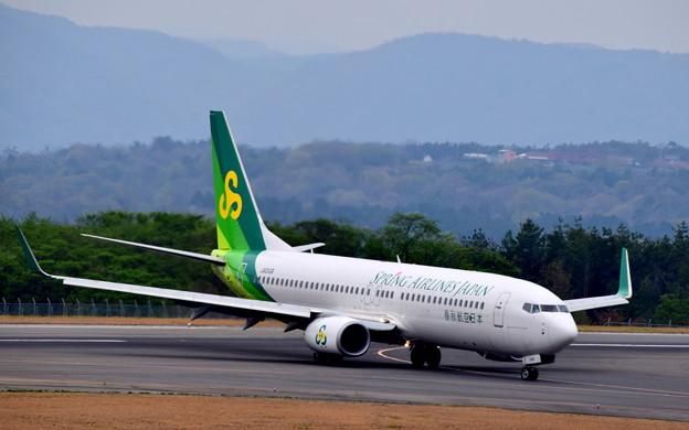 ボーイング737-800(春秋航空)JA01GR
