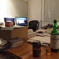 Photos: さて夜の部。長い一日だけど一つずつ作業を進めていこうか。