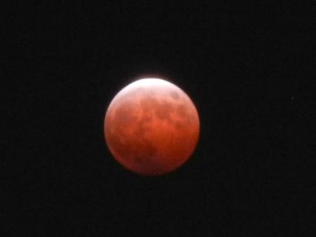 ココからは赤く見える月・7