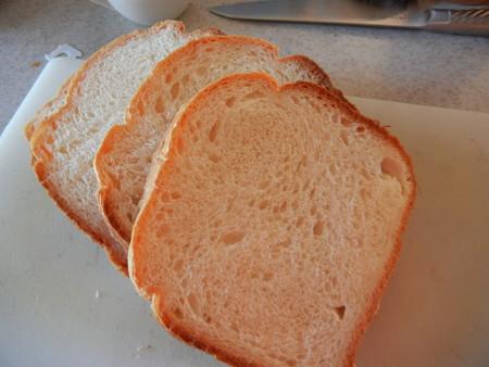カルピスソフトでパンを焼いた