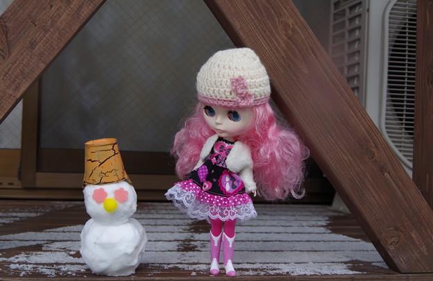 雪だるま作ってみたよ