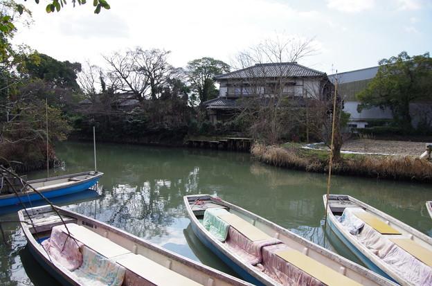 柳川 船着き場