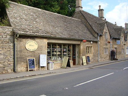 Present Time in Bibury