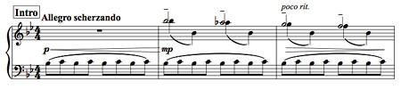 ピアノソロ「雪のそり滑り」改訂版