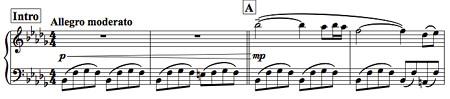ピアノソロ「夜明け前の旅」