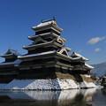 冬の松本城1