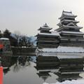 冬の松本城4
