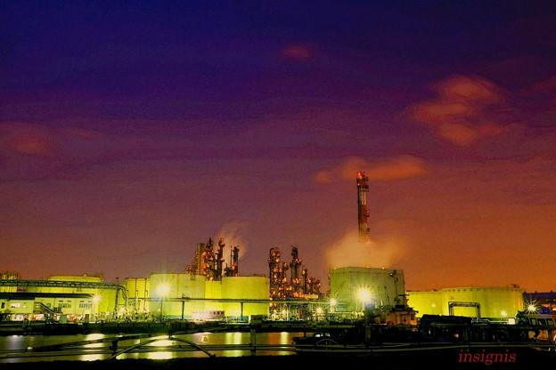 工場夜景~萌え~夜光~danger zone.......