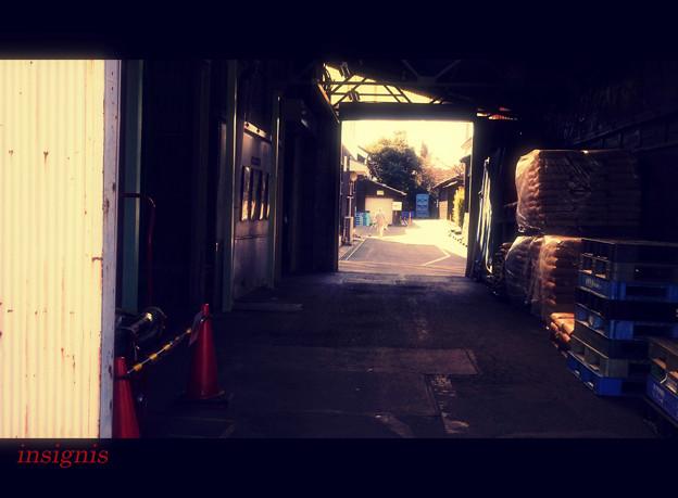 八丁味噌工場.......