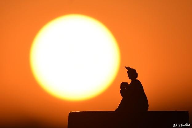 """写真: 自由な女神 """"夜明けのコーヒー"""""""
