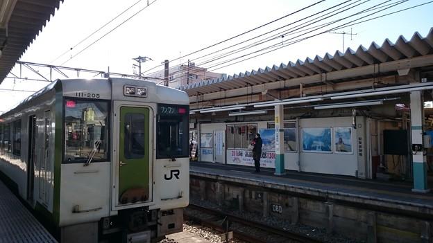 キハ110系200番台 キハ111-205 [JR 高麗川駅]