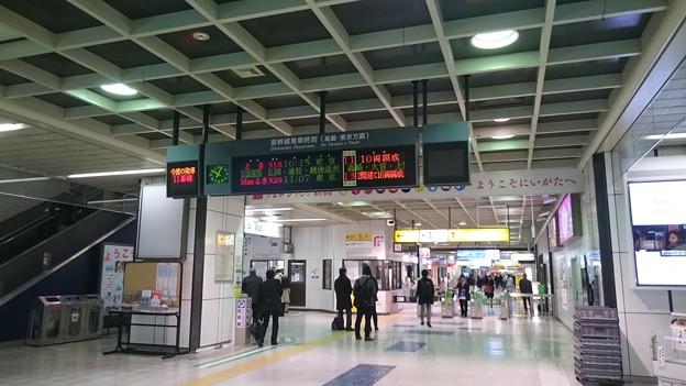 新幹線コンコース [JR 新潟駅]