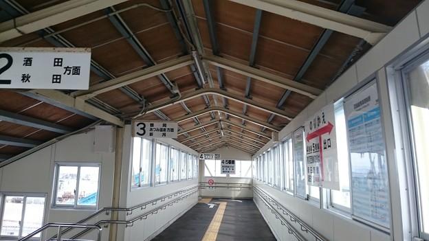 乗り換え階段  [JR 余目駅]