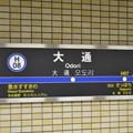 写真: 東豊線2番線駅名標 [札幌市交通局 大通駅]