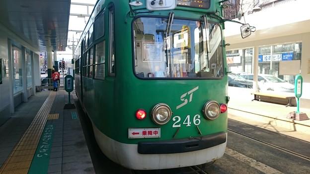 240形 246号 [札幌市交通局 すすきの駅]