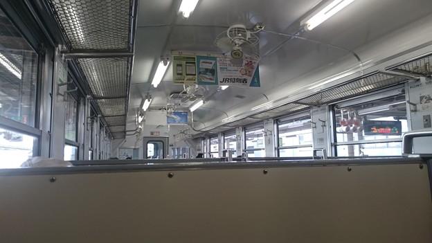車内 (キハ40系 キハ40 551) [JR 八戸駅]