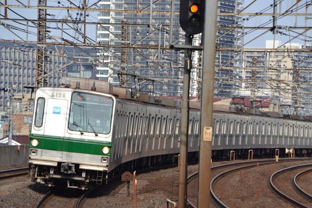 6000系 6124F [JR常磐線 亀有駅]
