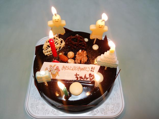 次女の12歳バースデイケーキ(ユーハイム)