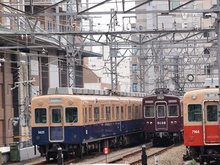 阪急5100系 阪神尼崎駅02
