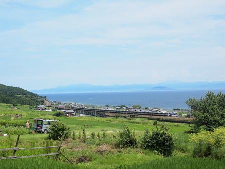223系新快速 湖西線北小松~近江高島01