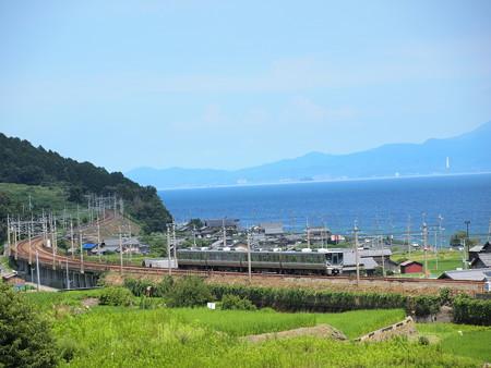 225系普通 湖西線北小松~近江高島