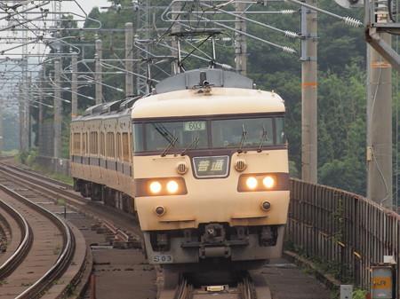 117系普通   湖西線志賀駅01