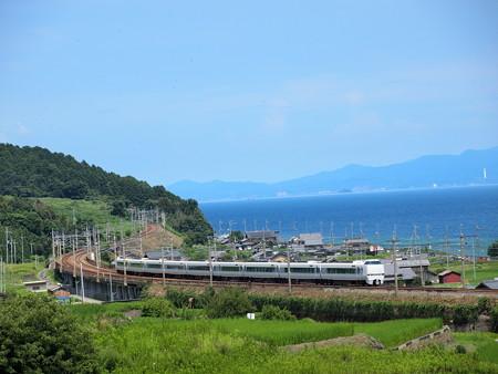 683系特急サンダーバード  湖西線北小松~近江高島01