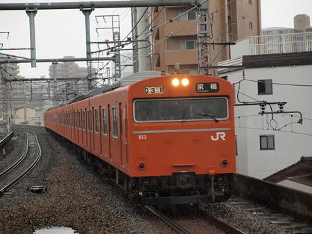 103系普通 大阪環状線福島駅