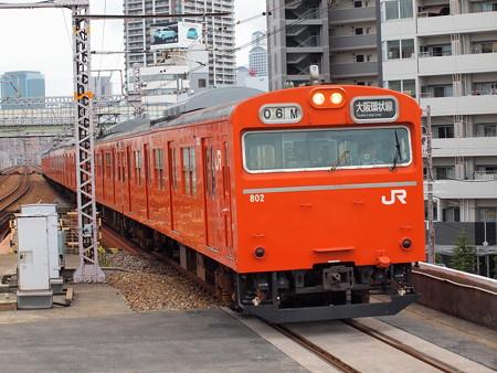 103系普通 大阪環状線野田駅01