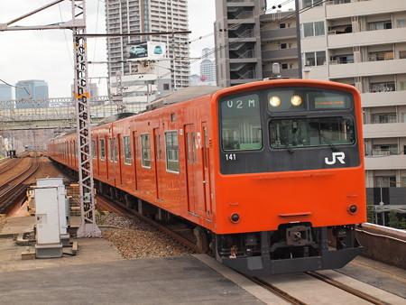 201系普通 大阪環状線野田駅02