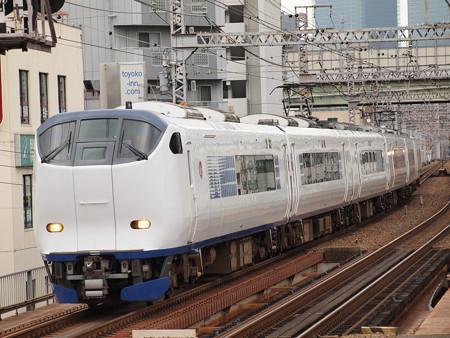 281系特急はるか 大阪環状線野田駅04