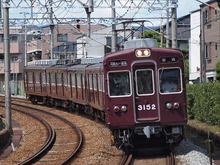 阪急3100系普通 阪急今津線仁川~甲東園02