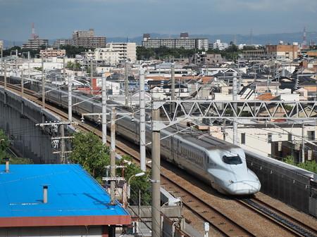 N700系さくら 山陽新幹線新神戸~新大阪