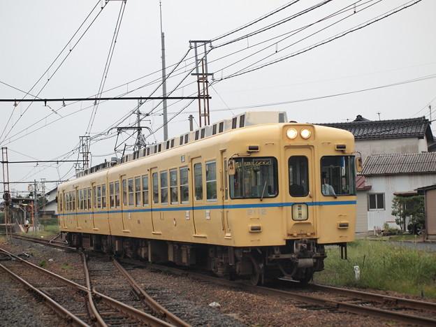 一畑電車2000系電鉄カラー北松江線川跡~武志02