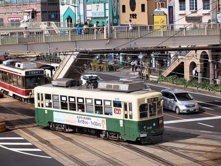 長崎電鉄300形 長崎駅前01
