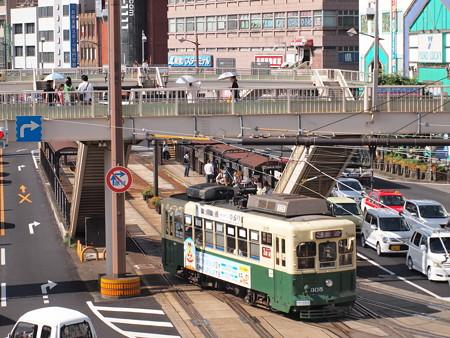 長崎電鉄300形 長崎駅前03