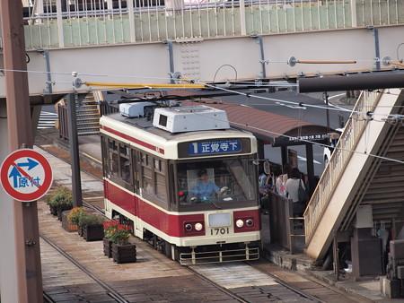 長崎電鉄1700形 長崎駅前01