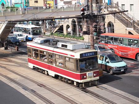 長崎電鉄1700形 長崎駅前02