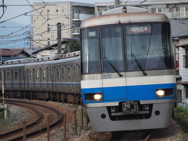 福岡市営地下鉄2000系普通 筑肥線周船寺~九大学研都市