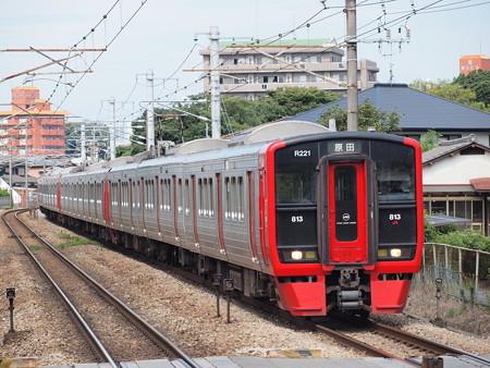 813系快速 鹿児島本線水城駅