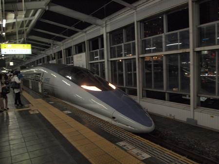 500系こだま 山陽新幹線岡山駅01