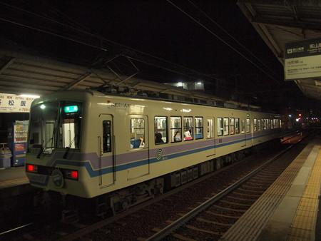 叡電800形  叡山本線茶山駅03