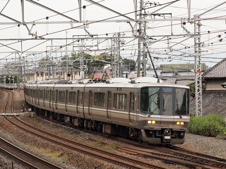 223系新快速   東海道本線島本~山崎01