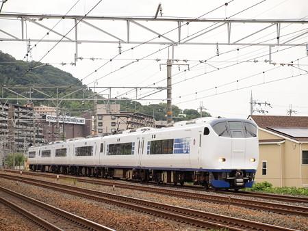 281系特急はるか  東海道本線島本~山崎05