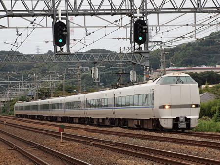 683系特急サンダーバード 東海道本線島本~山崎03