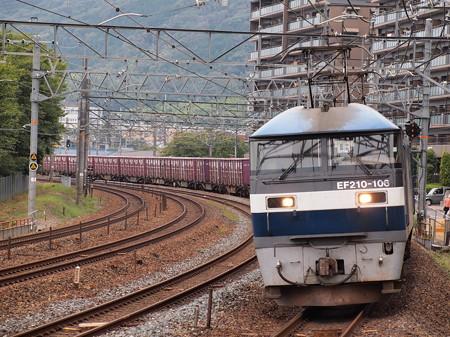 EF210貨物  東海道本線島本~山崎01