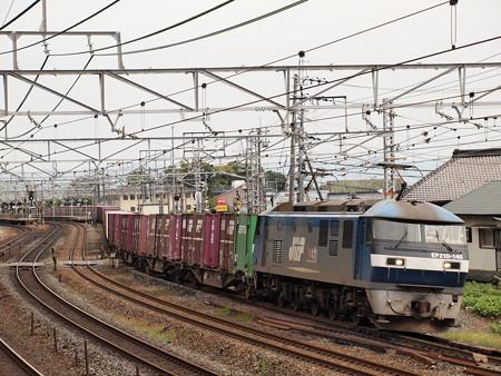 EF210貨物  東海道本線島本~山崎02
