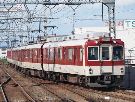 近鉄8000系急行 近鉄京都線新祝園駅