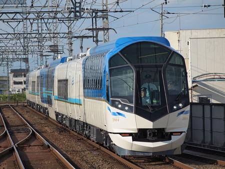 近鉄50000系しまかぜ試運転 近鉄京都線新祝園駅