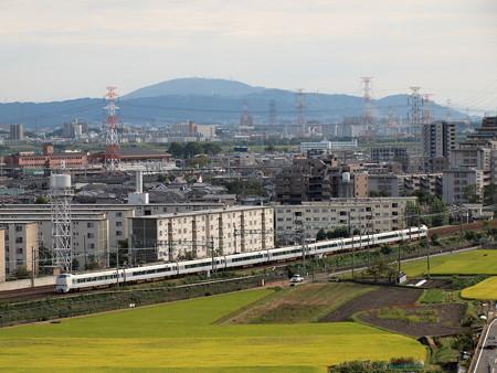 683系特急サンダーバード 東海道本線高槻~島本